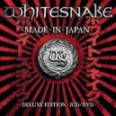 Whitesnake Made In Japan Deluxe Edition 2 CD's + DVD