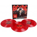AC/DC Live At River Plate Triple Vinilo Importado Rojo Imperdible 3 LP's