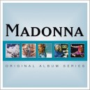 Madonna  Original Album Series Box 5 CD's Importado Europeo